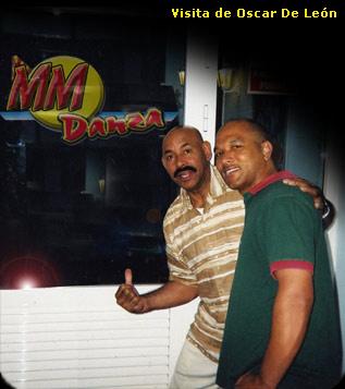 Manuel y Oscar de Leon en MMDanza
