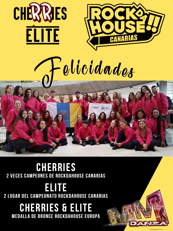 Cherries & Elite MMDanza Tenerife